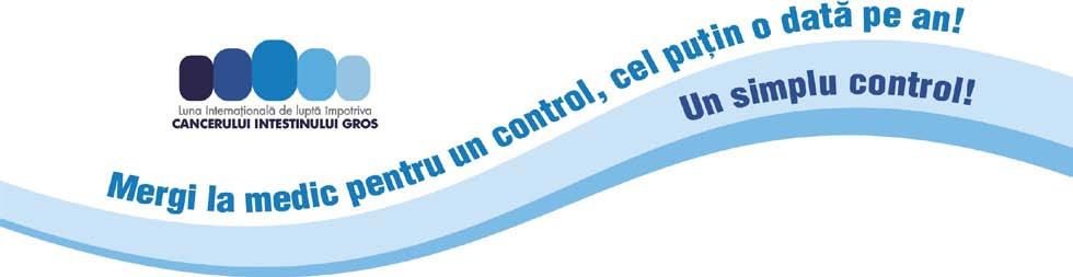 Campanie impotriva cancerului intestinului gros: Mergi la medic pentru un control, cel putin o data pe an!